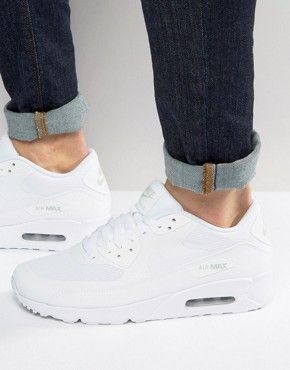 picked up new lifestyle available Nike Air Max 90 Ultra 2.0 Trainers In White 875695-101 | Nike air ...
