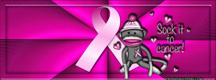 Cute Facebook Timeline Cover For Breast Cancer Awareness Month