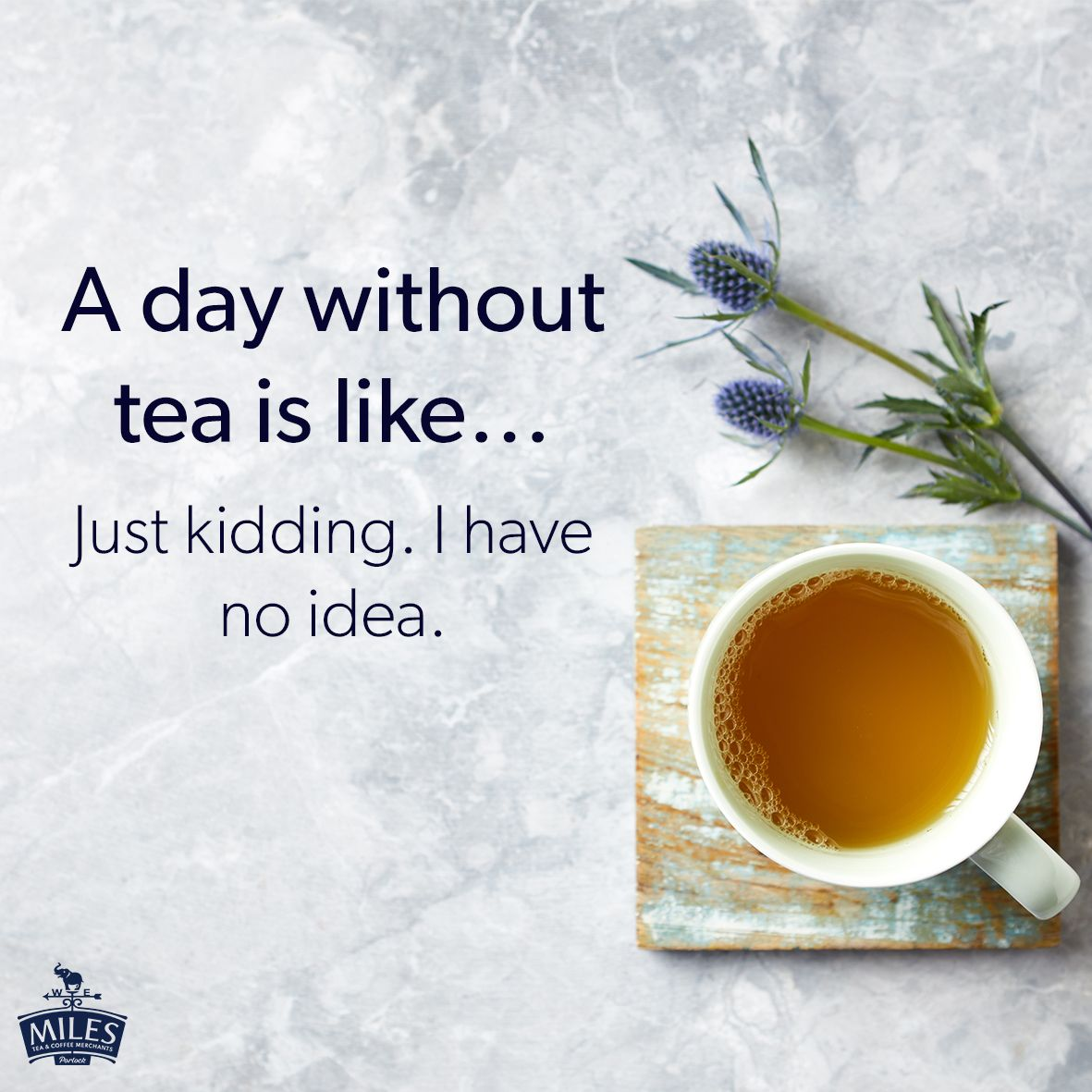 A Day Without Tea Tea Quotes Tea Coffee Tea