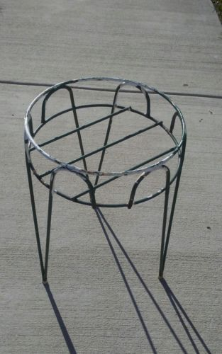 Vintage Metal Wire Plant Stand Indoor Outdoor