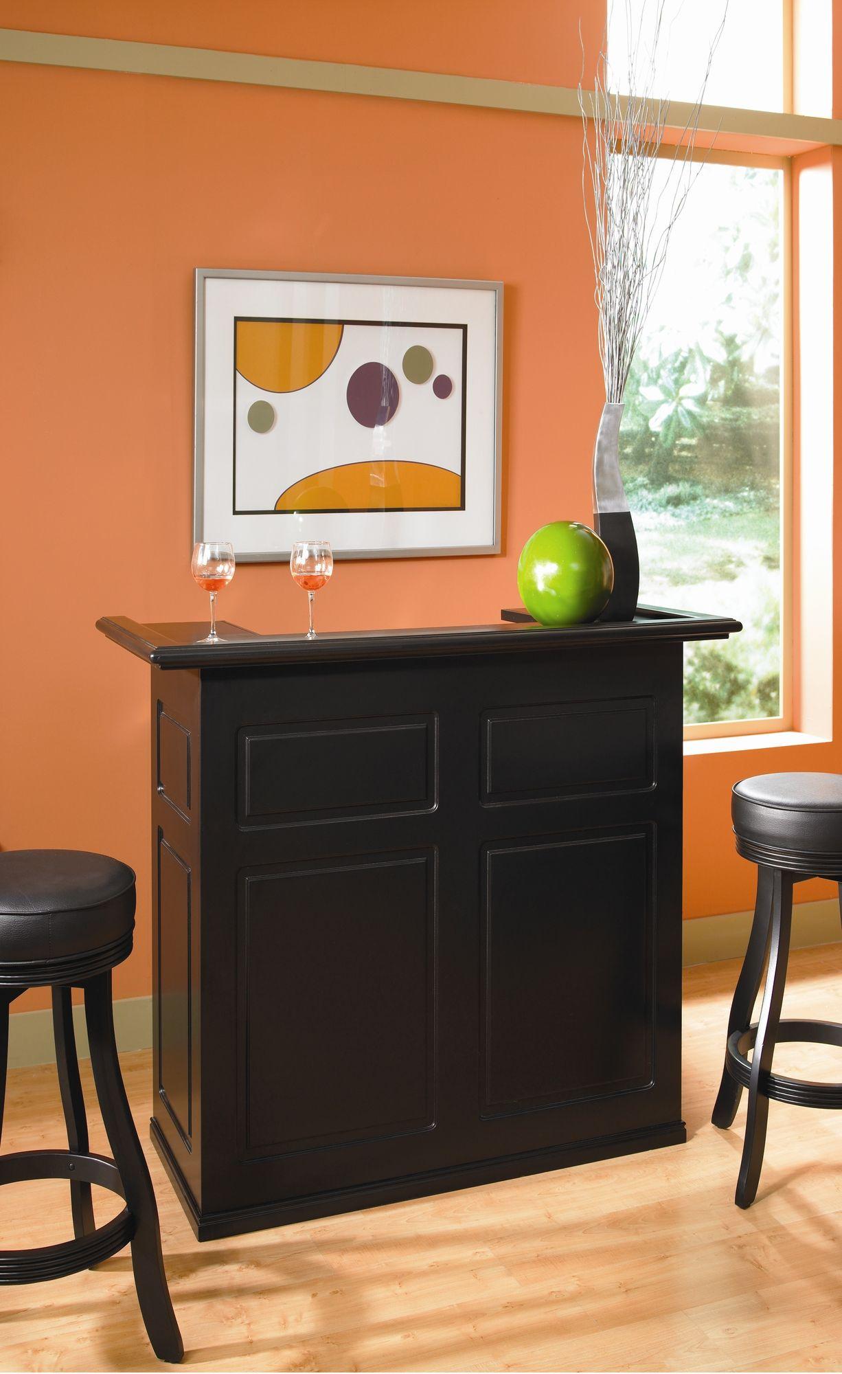 American heritage trenton fridge bar in black wayfair