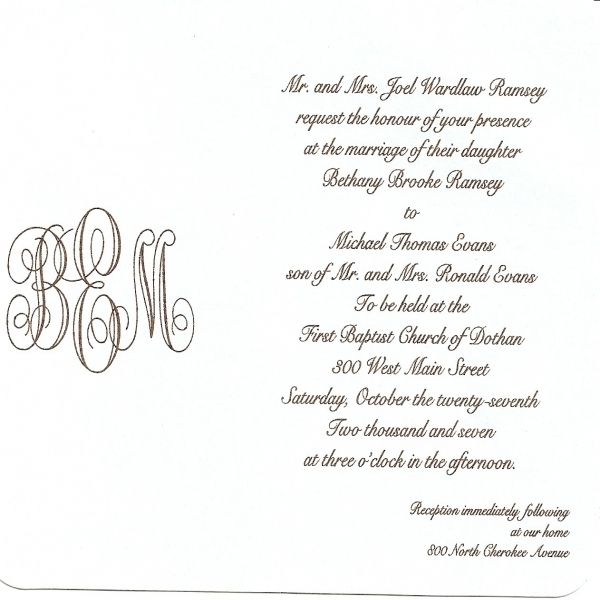 Nice 9 What To Write In Wedding Invitation