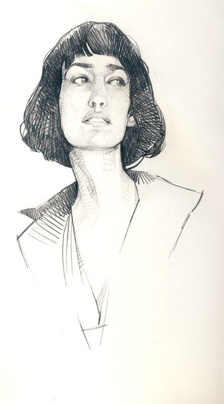 David Malan I Like The Cross Hatching Portrait Drawing Life
