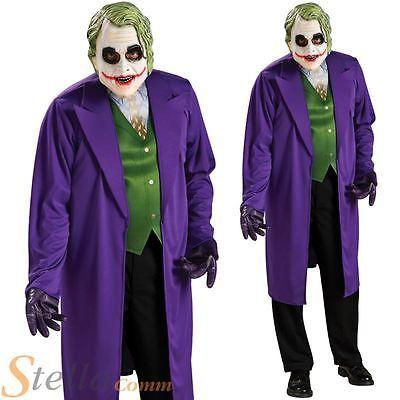 Mens joker batman dark #knight halloween complete adult #fancy #dress costume View  sc 1 st  Pinterest & Mens joker batman dark #knight halloween complete adult #fancy ...