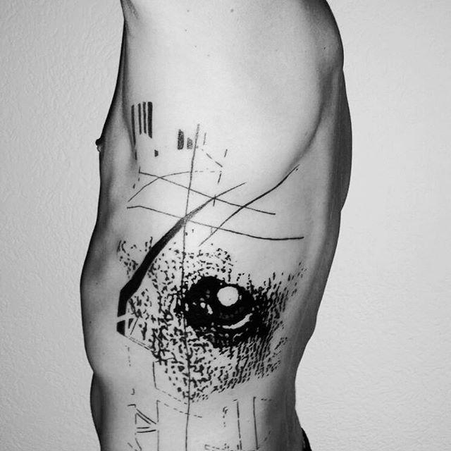 artist baer abstrakt abstrakte tattoos apparatabstrakt dada artbrut modernarttattoo. Black Bedroom Furniture Sets. Home Design Ideas