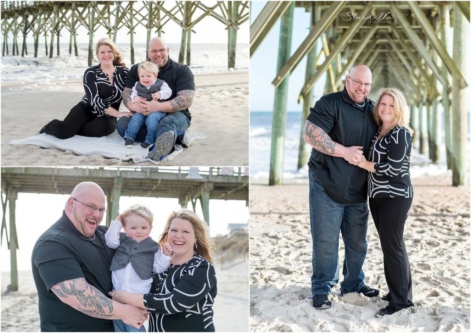 Family session by stardella photography jacksonville nc surf city nc