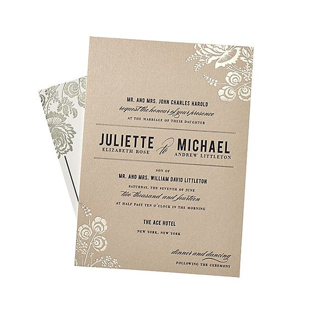 Wedding Invitation Wording Together With Their Parents: 21 Wedding Invitation Wording Examples To Make Your Own