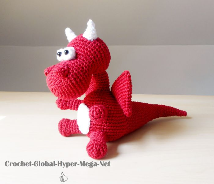 Drache Häkelnanleitung Kostenlos Crochet Sewing Crafts