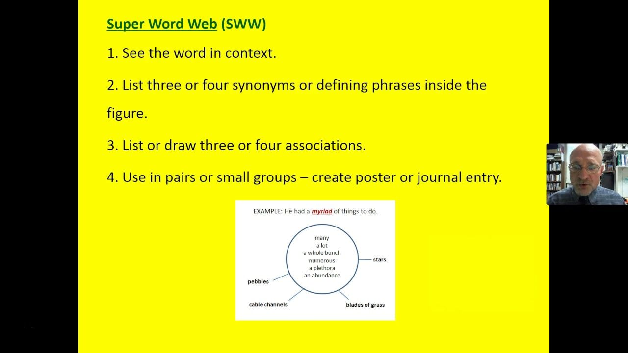 Vocabulary Synonyms And Associations And Super Word Web Reading Instruction Word Web Reading Specialist Words with similar meaning of plethora at thesaurus dictionary synonym.tech. super word web