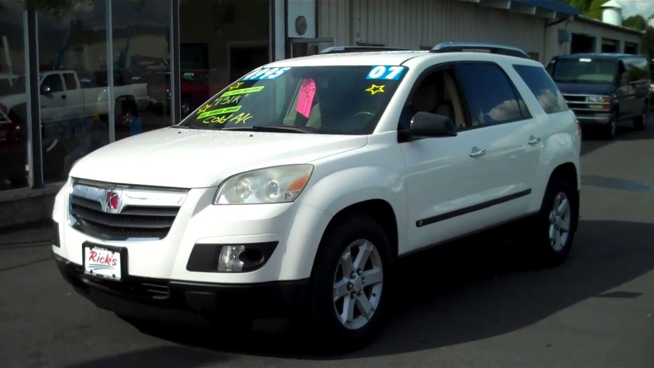 2007 Saturn Outlook Xr Awd 4995 Awd Cars For Sale Saturn