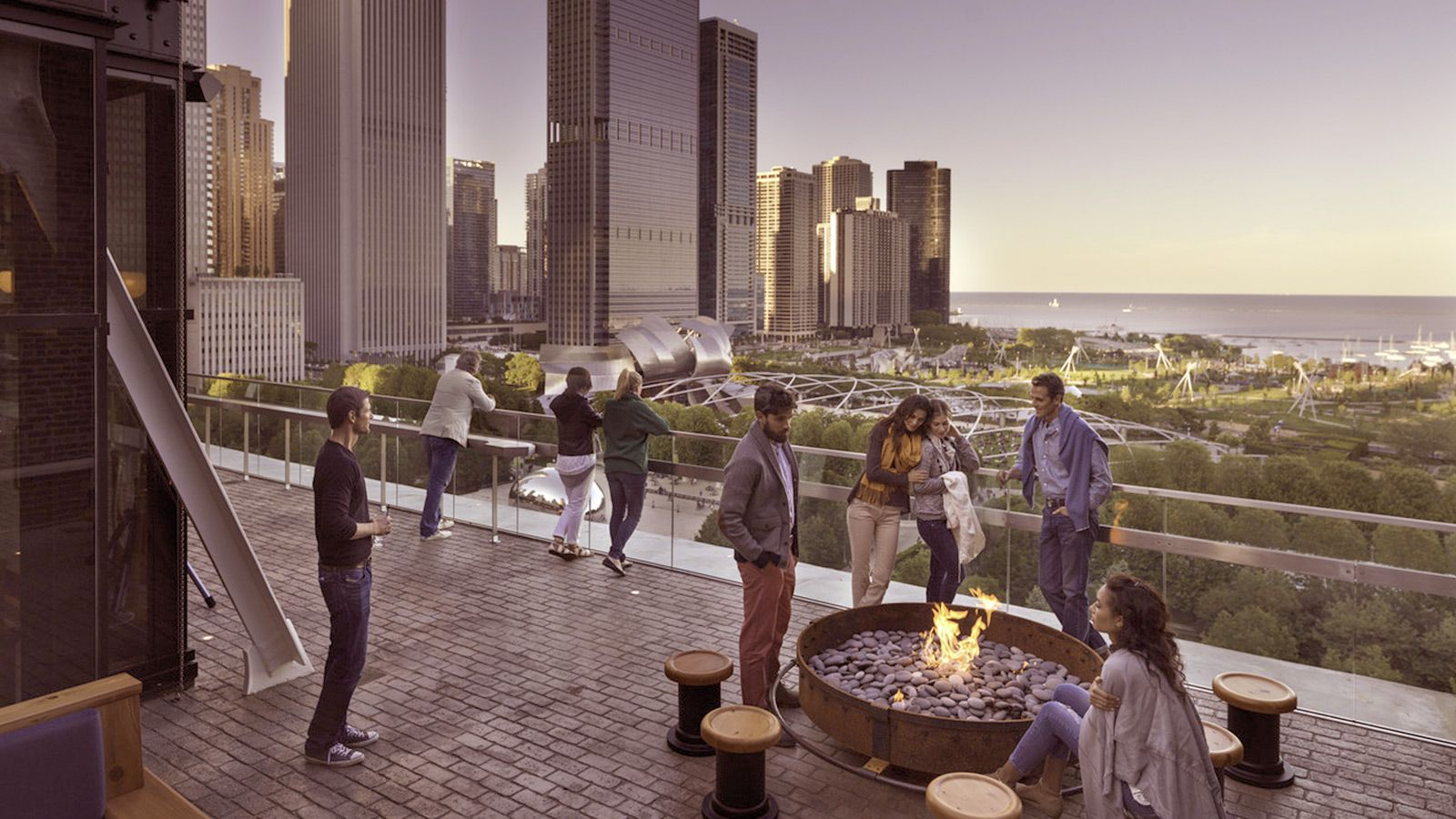 Downtown Chicago Loop Hotels Near Grant Park Athletic Ociation Hotel