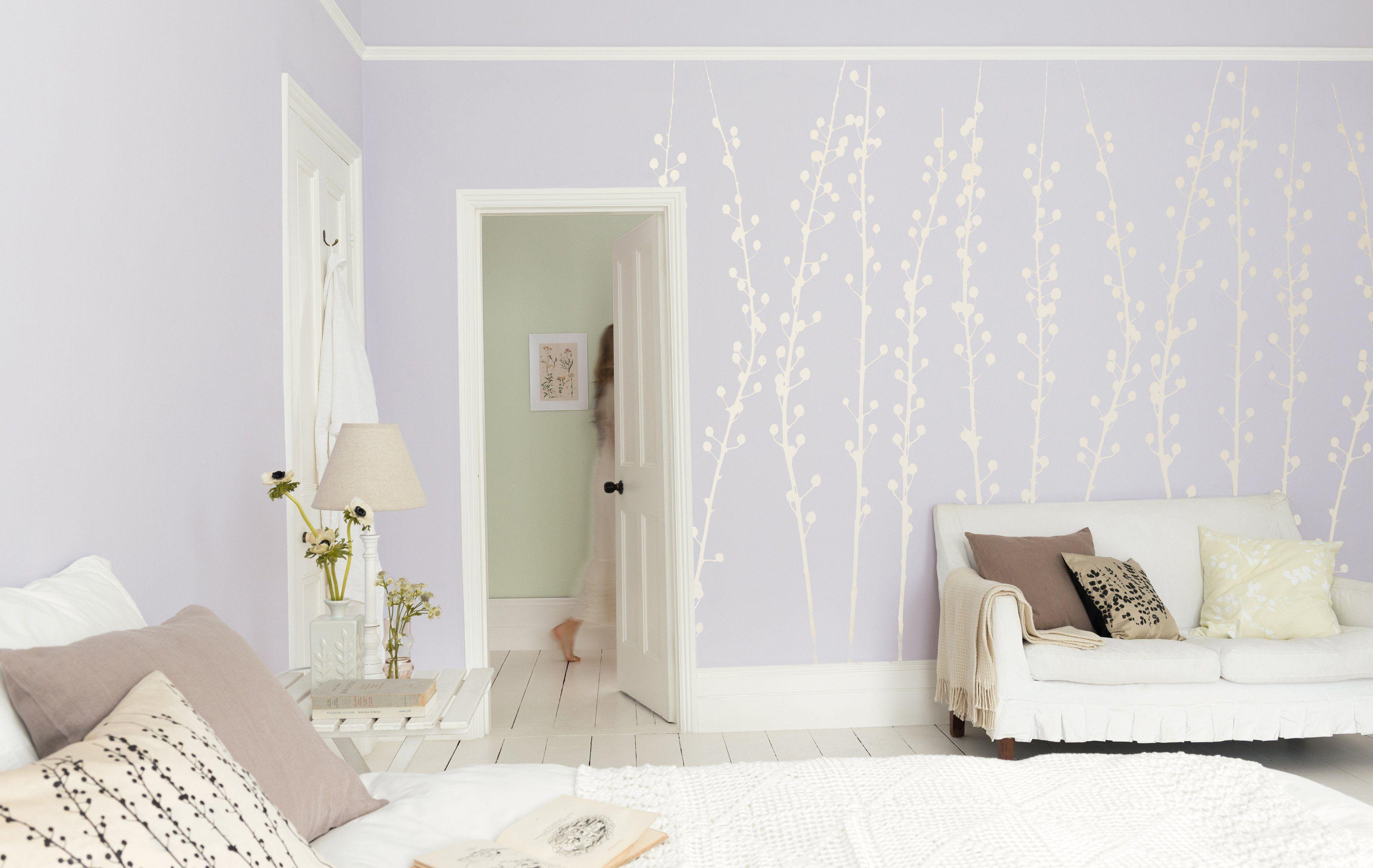 Pastellfarben Einrichten mit Pastelltönen Weiße wand