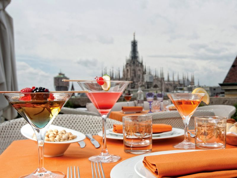 Terrazza Aperitivo Milano Travel In 2019 Luxury