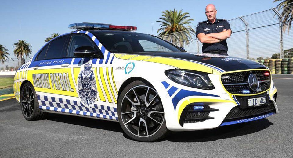 Aussie Police Get Mercedes Amg E43 Patrol Car Police Cars