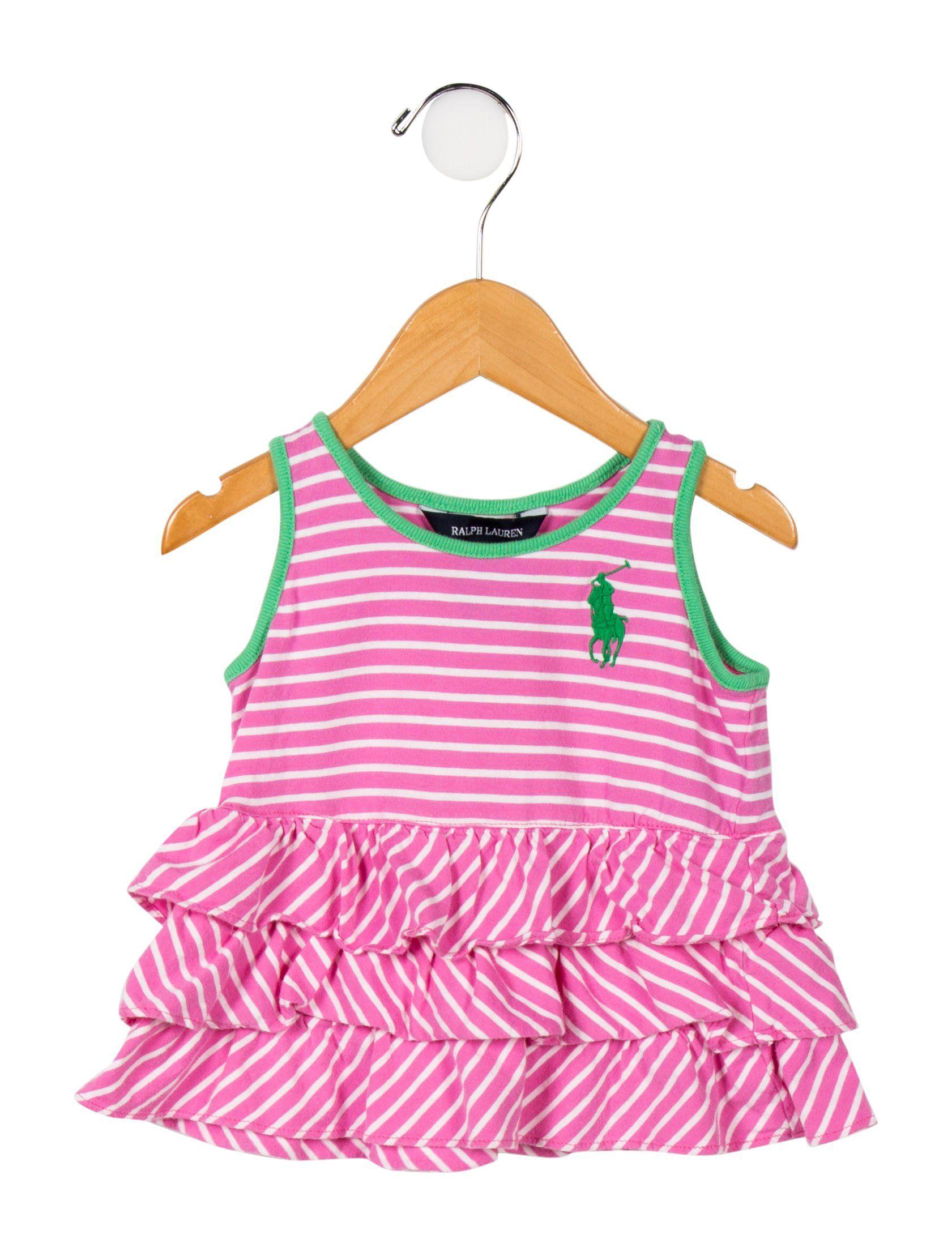 26baad70339 Girls  Sleeveless Stripe Top