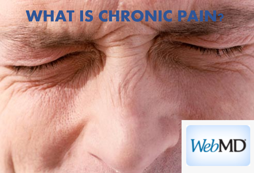 What Is Chronic Pain form WebMD