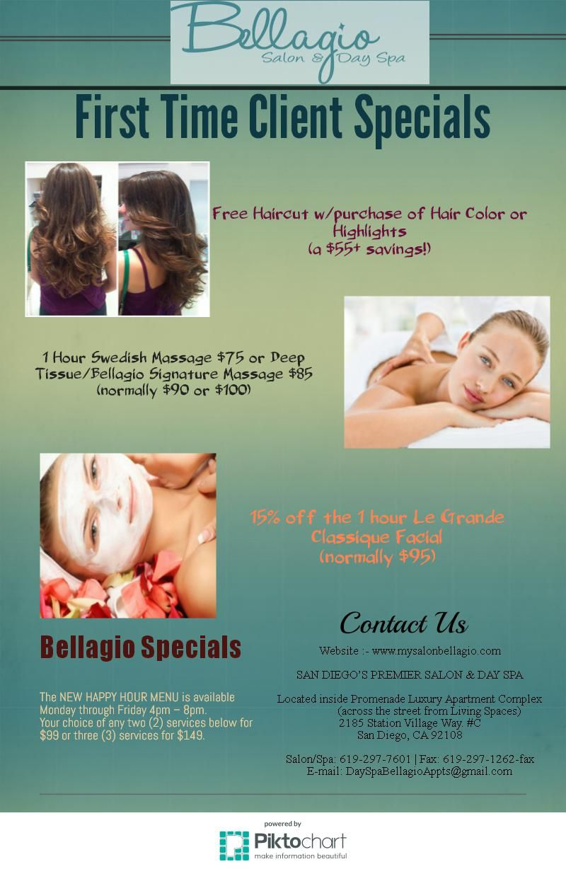 Pin On Only At Bellagio Salon Day Spa