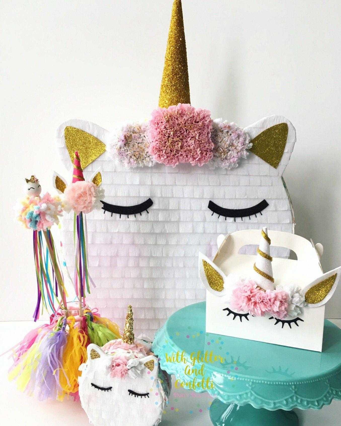 Party Favor Favor Box Unicorn Party Favor Unicorn Baby Shower