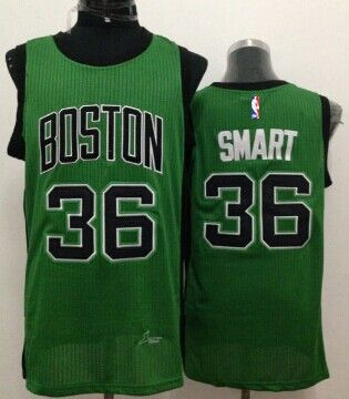save off ab002 7bd30 boston celtics 36 marcus smart green with black swingman jersey