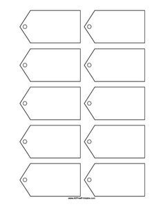free printable blank gift tags template craft pinterest gift