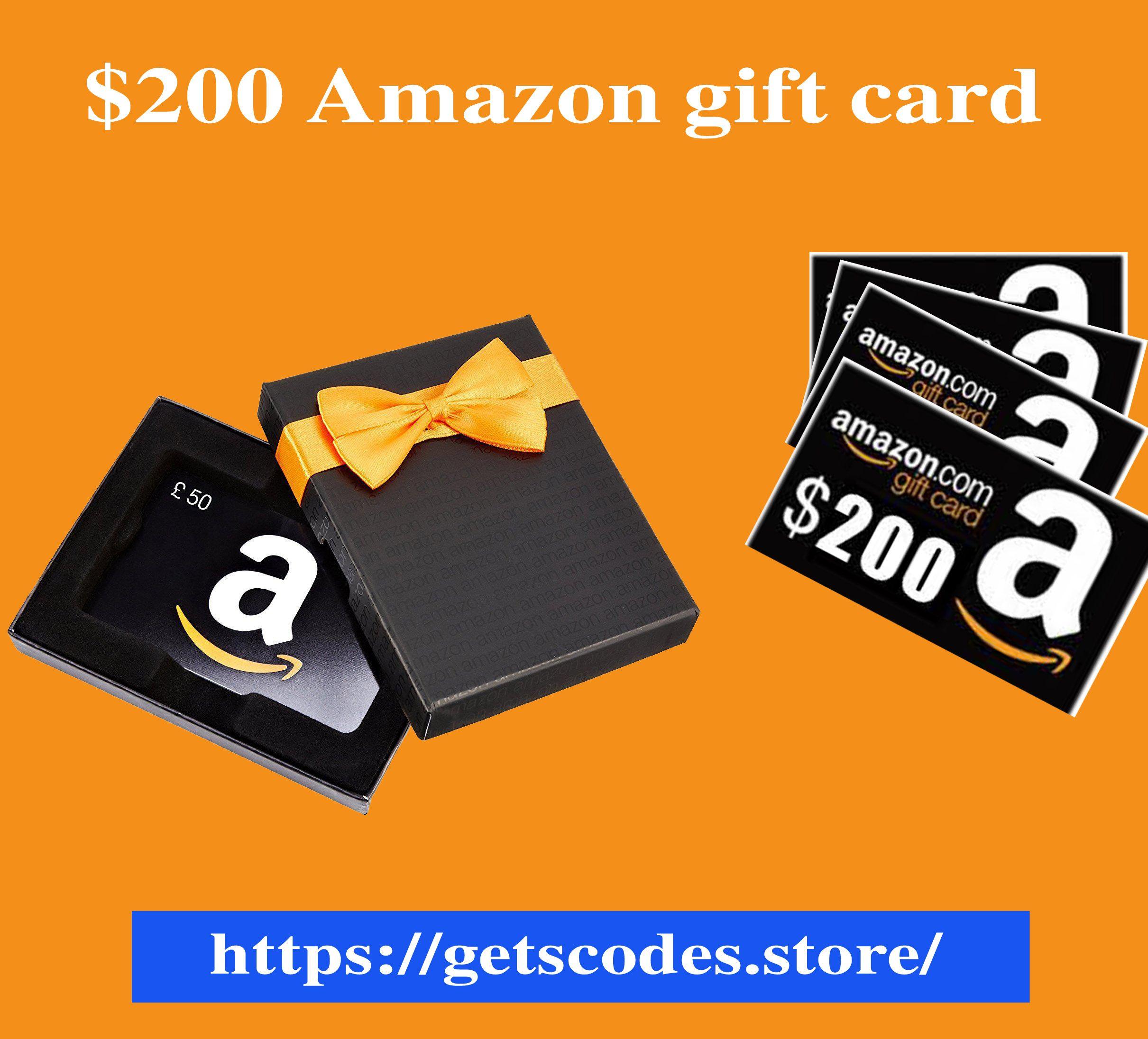 Photo of $200 free amazon gift card