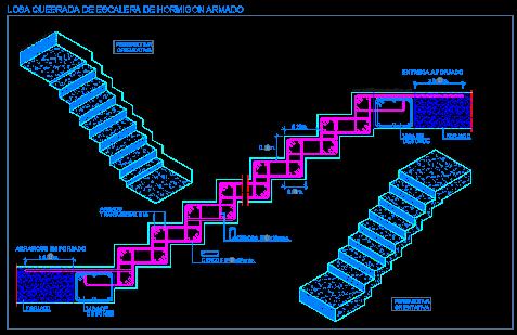 Resultado De Imagen Para Planos De Escaleras De Concreto