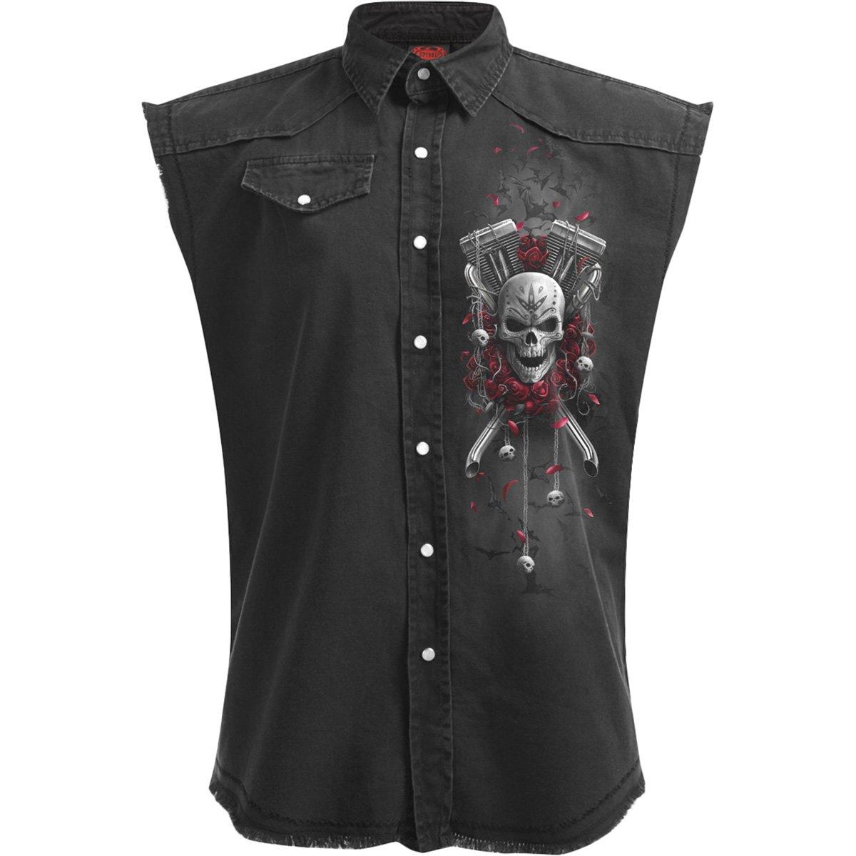 Spiral DOTD Bikers Camiseta Negro