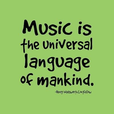 This is absolutely true... music transcends any type of cultural differences and can be appreciated by anyone.