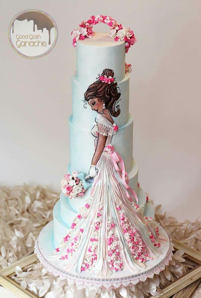 Buena ganache Dios en Pearland, Tx hecho de este hermoso pastel! ❤❤❤