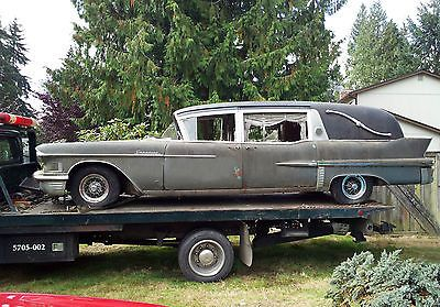 hearse for sale | Cadillac : Other Superior Hearse 1958 Cadillac
