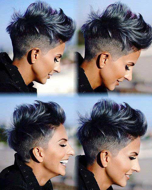 50 Besten Ideen Fur Kurzhaarfrisuren 2020 Trend Bob Frisuren 2019 Kurze Frisuren Fur Dickes Haar Frisur Dicke Haare Coole Kurzhaarfrisuren