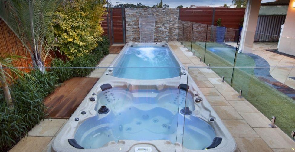 Dual zone swim spa jadan spas spas hot tubs - How much is an endless pool swim spa ...