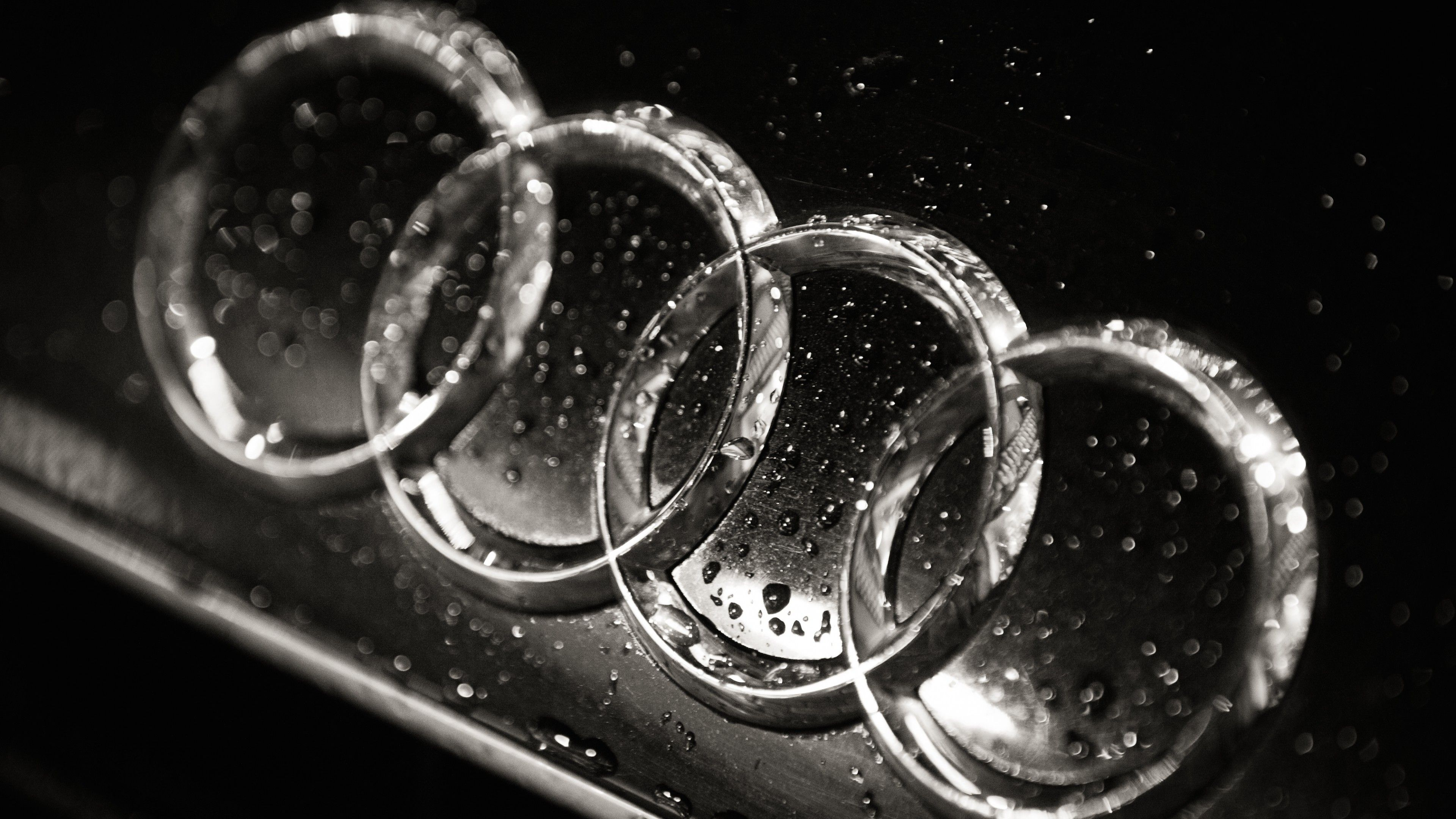 Audi Logo Wallpaper High Definition For Desktop Wallpaper 3840 X