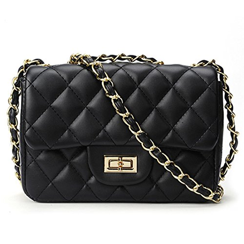 4562d7203fb SALE PRICE - $20.8 - Volcanic Rock Women Quilted Crossbody Bag Girls Side  Purse and Shoulder Handbags Designer Clutch with Chain