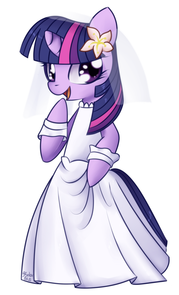 Twilight Sparkle - Wedding Dress by Bukoya-Star on ...