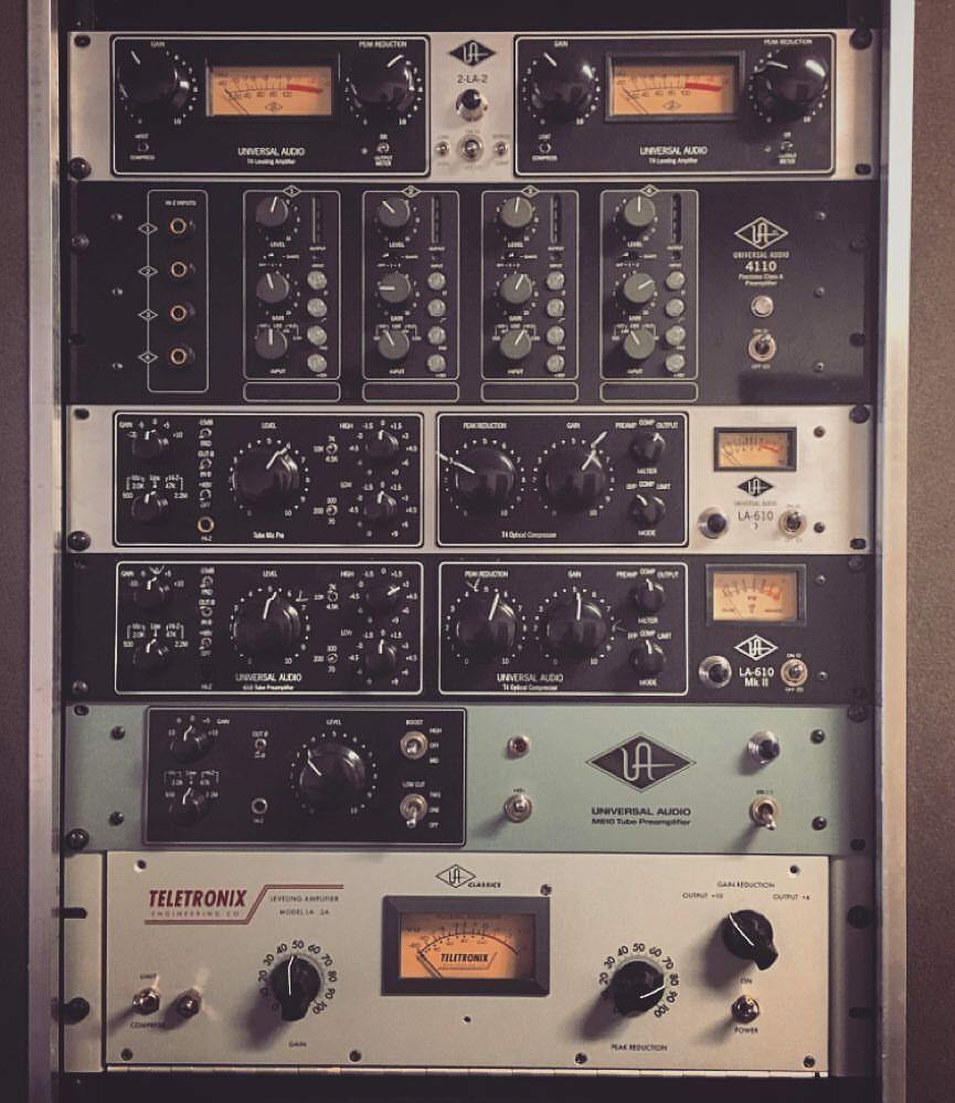 Analoge Rack Universal Audio Home Recording Studio Equipment Audio Studio Recording Studio Home