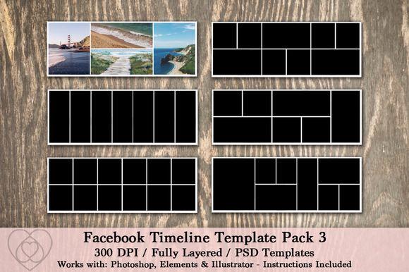 Facebook Timeline Template Pack Facebook timeline, Website layout