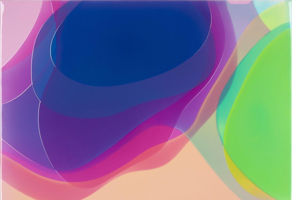 Peter Zimmermann – p.i.t.2, 2013, 100 x 120 cm, epoxy resin