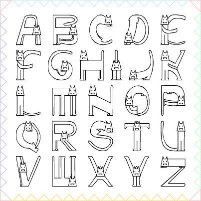 Free Font Collection 08 箱庭 Haconiwa 女子クリエーターのためのライフスタイル作りマガジン Scrapbook Fonts Lettering Alphabet Creative Lettering