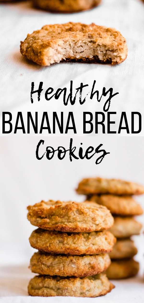 Banana bread cookies are a delicious and healthy treat the whole family will enjoy These banana bread cookies are gluten free vegan paleo and full of banana flavor  with...