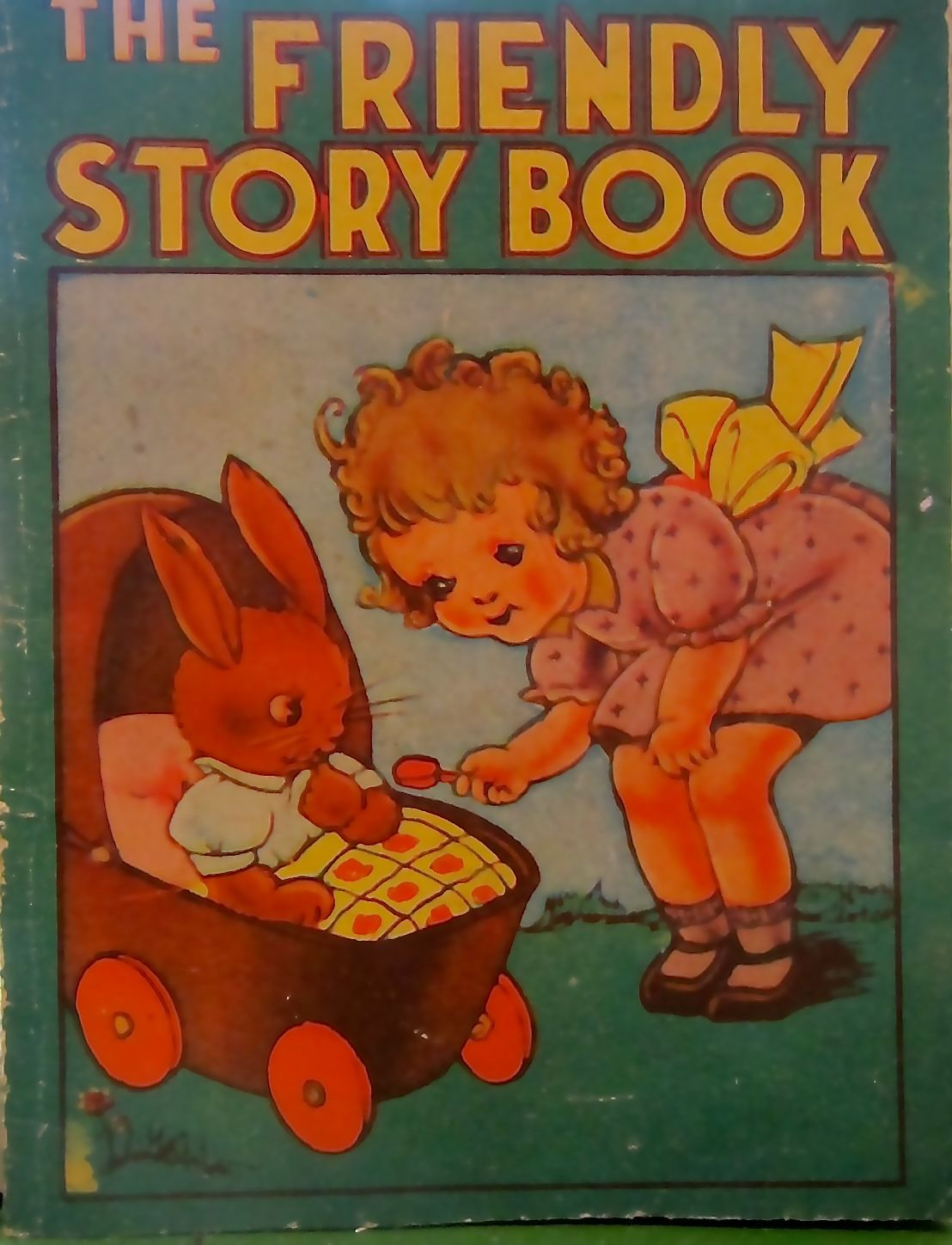 Friendly Story Book Old Children S Books Vintage Children S Books Painted Books