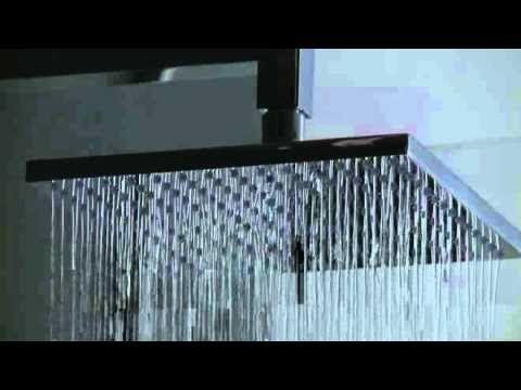GRAFF Square Thermostatic Shower
