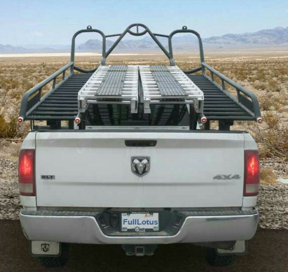 Rzr Rack In Pickup Bed Rzr Custom Golf Carts Custom Golf