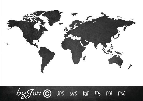Byjon instant download world map svg for paper cutter card cut check out this item in my etsy shop httpsetsyuklisting479148938011 instant download world map atlas for gumiabroncs Images