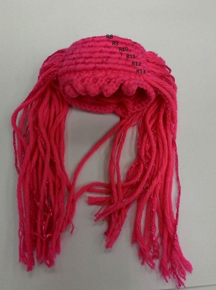 pelo-de-muñeca | crochet 9- amigurumi, | Pinterest | Pelo de muñeca ...