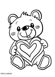 Disegni Di Orsetti E Orsacchiotti Da Stampare E Colorare Portale Bambini Bears Coloring Coloringpages Coloringin Disegni Orsacchiotti Disegni Da Colorare