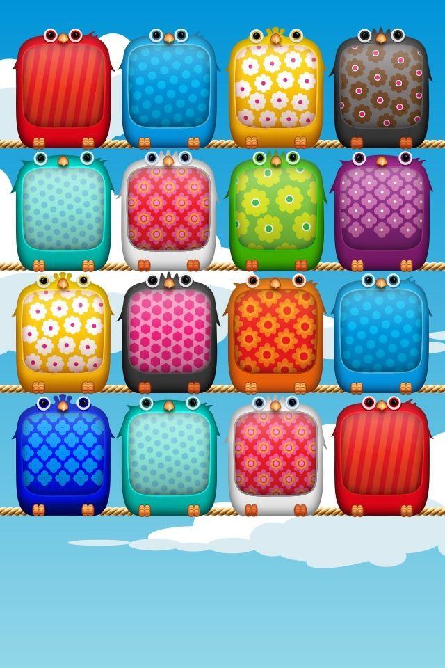 Owls shelves. iPhone wallpaper Ipod wallpaper, Ipad