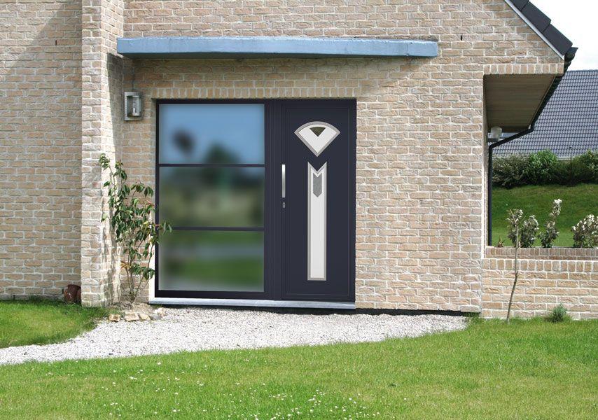 Portes Dentrée Aluminium Et PVC Fenêtres Fermetures Store - Protection porte d entrée