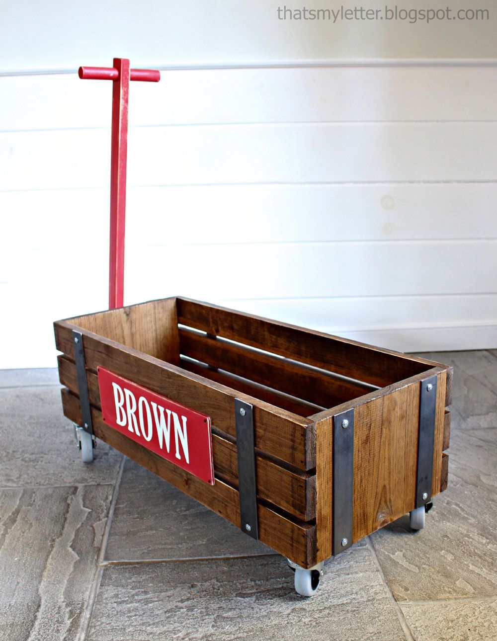 Ana White Build A Beautiful Wood Wagon For Children Industrial  # Muebles Dummy Medellin