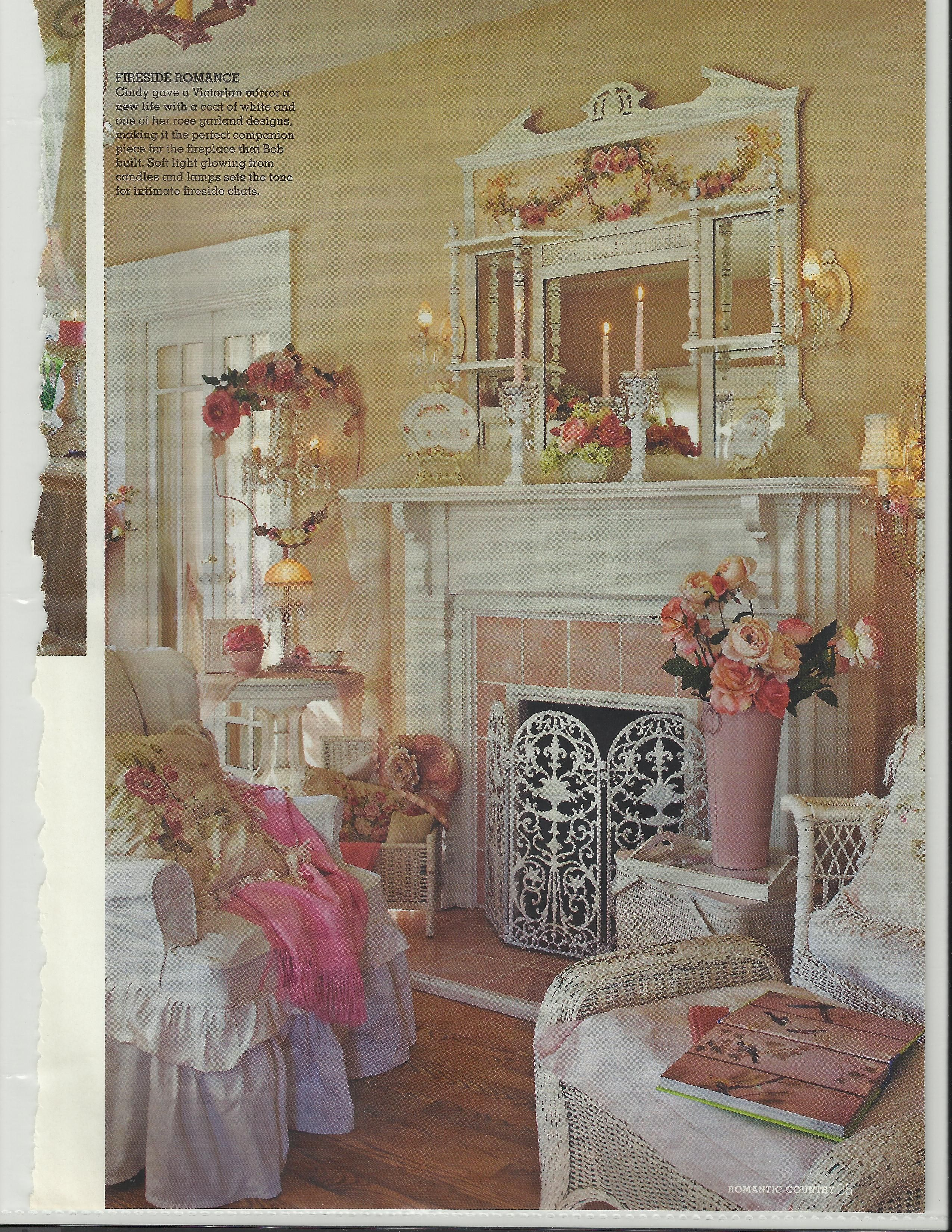 Bob Cindy Ellis S Lovely Home Featured In Romantic Country